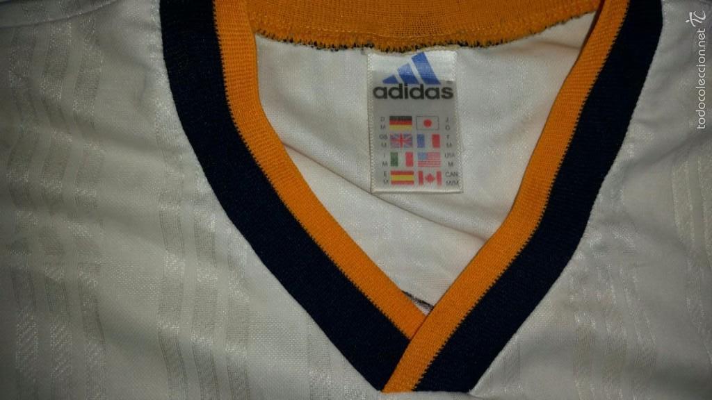Coleccionismo deportivo: CAMISETA ADIDAS REAL MADRID ORIGINAL TALLA M - Foto 4 - 57563912