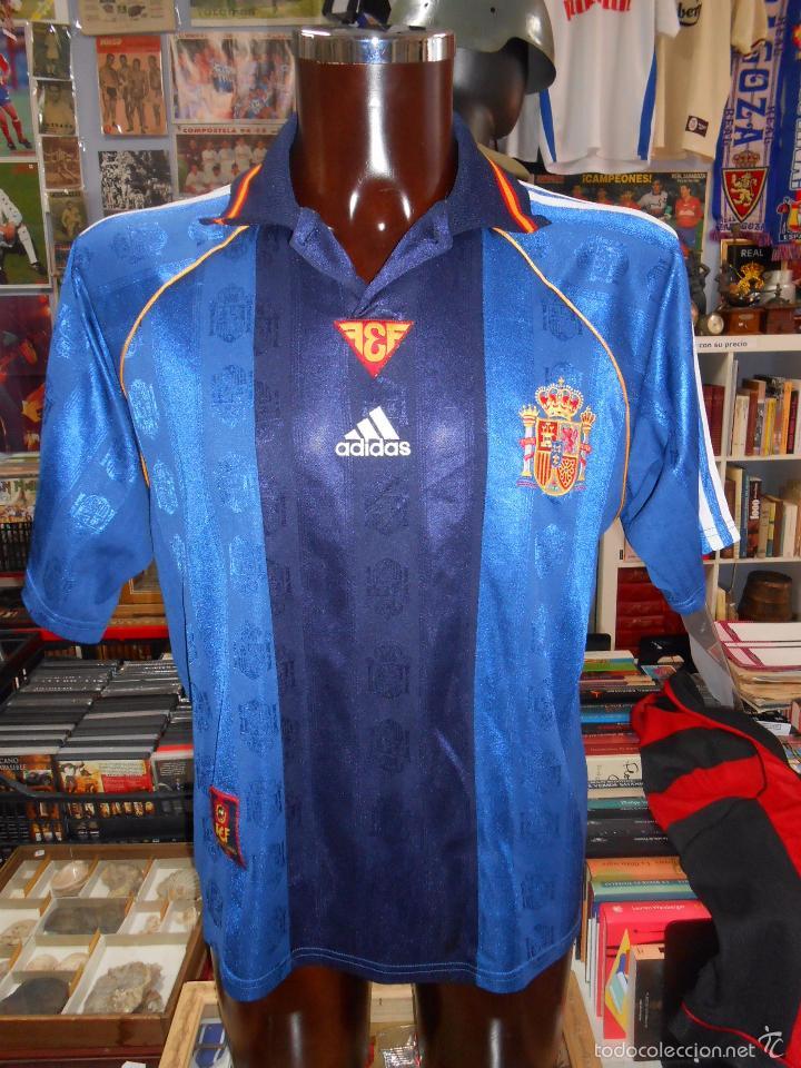 camiseta españa. seleccion española. azul. segu - Comprar ...