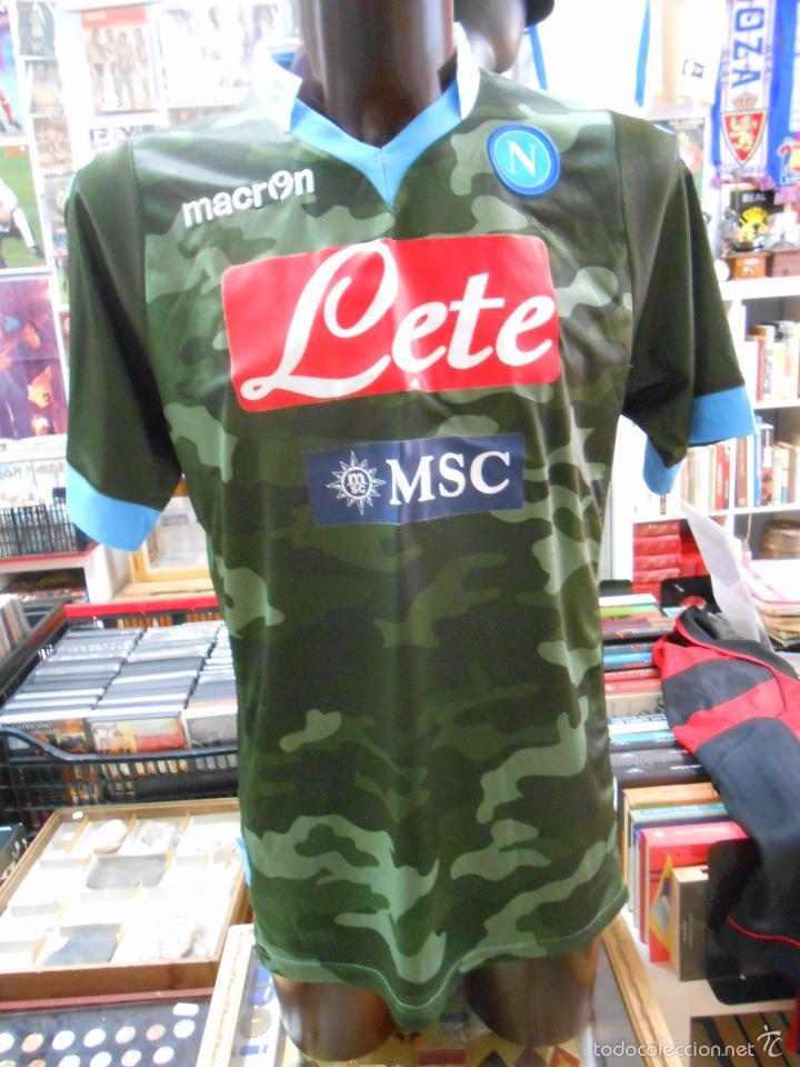 segunda equipacion Napoli deportivas