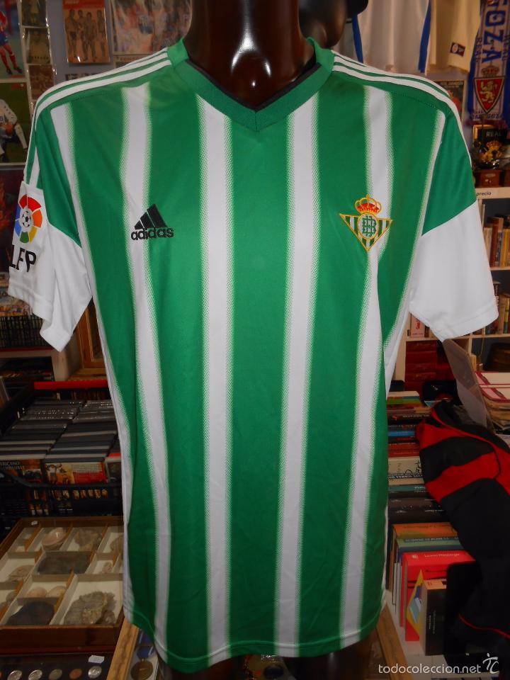 ego Fuera de borda Lectura cuidadosa  camiseta del real betis. oficial. talla xl. adi - Buy Football T-Shirts at  todocoleccion - 57677981