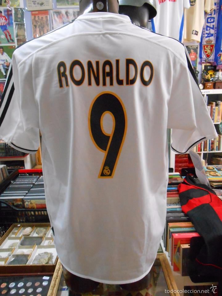 65faf43ab01d5 Coleccionismo deportivo  CAMISETA DEL REAL MADRID. RONALDO NAZARIO. DORSAL  9. OFICIAL ADIDAS
