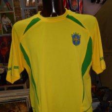 Coleccionismo deportivo: CAMISETA DE BRASIL. SELECCION BRASILEÑA. RONALDO. DORSAL 9. TALLA XL. TDKDEP8. Lote 57829850