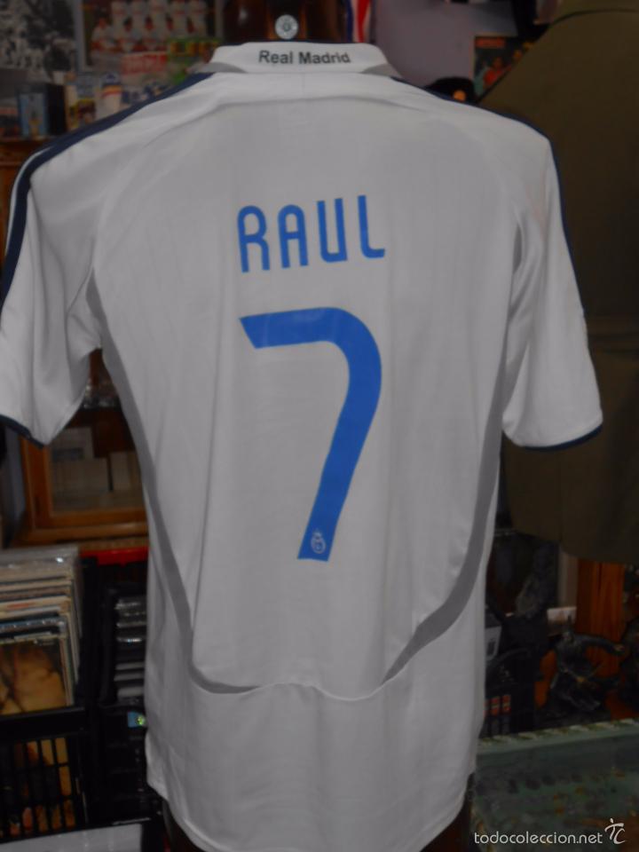camiseta del real madrid club de futbol. raul. - Comprar ...