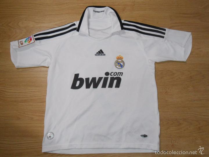 7AdidasBwinTalla De 140Tdkdep9 Madrid Camiseta Real Del FutbolRaul Dorsal Club 3RL4Aq5j