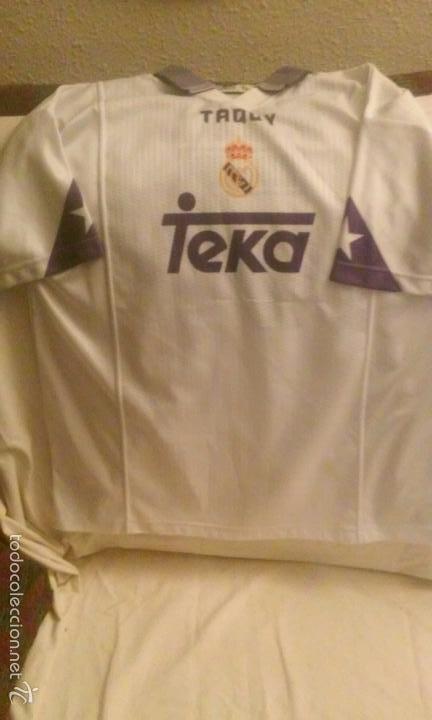 2621878b1ac39 Camiseta futbol real madrid teka-taquy raul núm - Vendido en Subasta ...