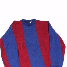 Coleccionismo deportivo: FC BARCELONA (BARÇA). CAMISETA ORIGINAL AÑOS 1970S. TALLA 6 (NIÑO). CON FIRMA ORIGINAL CRUYFF. Lote 92004502