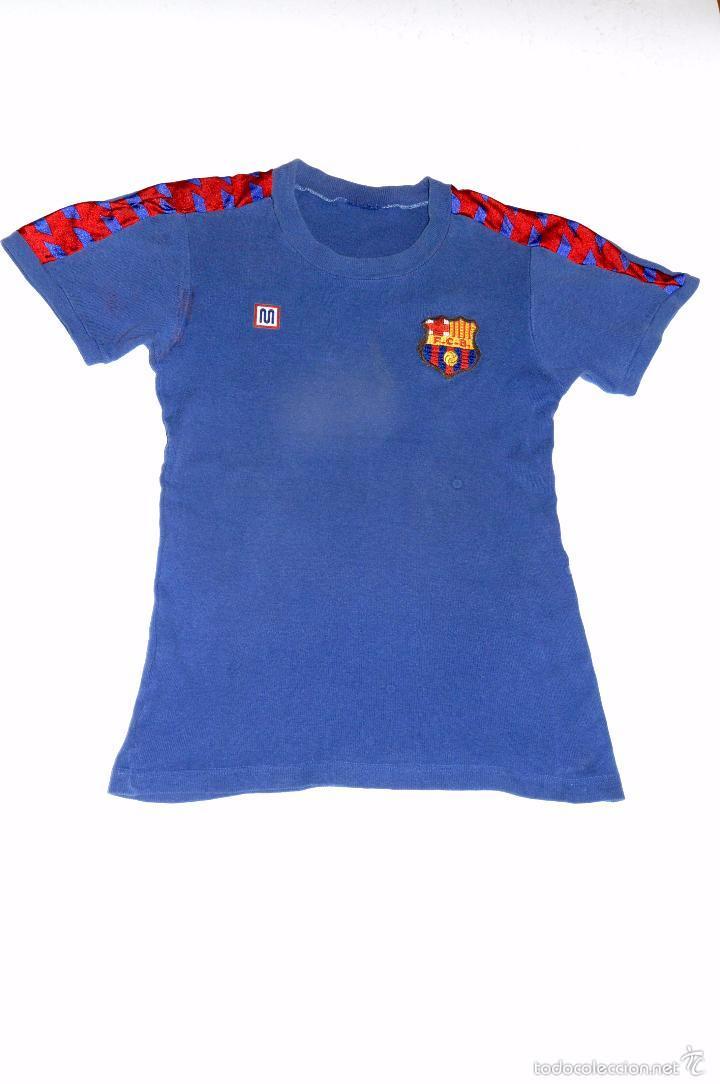 camiseta barça para bebe