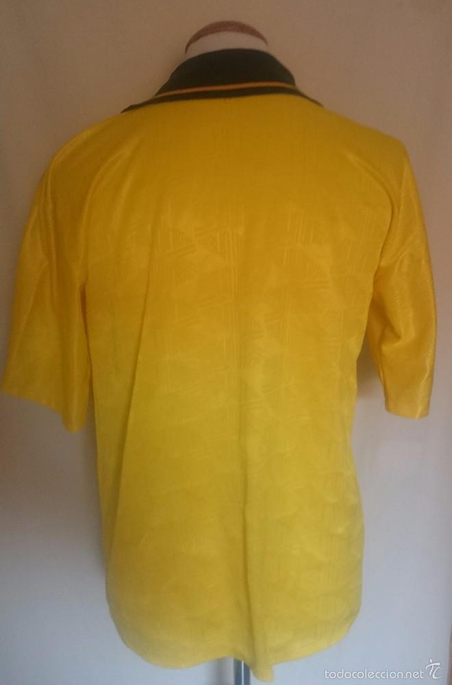 Coleccionismo deportivo: Camiseta Futbol Seleccion Brasil Umbro 1991 - Foto 2 - 58537964