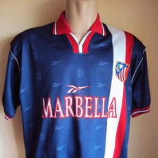Coleccionismo deportivo: (F-1822)CAMISETA AT.MADRID , MARCA REEBOK , TALLA APROX.L , OFFICIAL MECHANDAISE. Lote 217719065