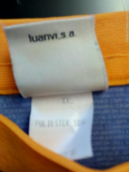 Coleccionismo deportivo: Camiseta Historica C. D. Alavés - Foto 3 - 136349121