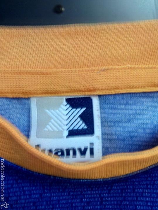 Coleccionismo deportivo: Camiseta Historica C. D. Alavés - Foto 4 - 136349121