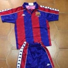Coleccionismo deportivo: EQUIPACION KAPPA DEL FUTBOL CLUB BARCELONA TEMPORADA 90-94 - TALLA 6. Lote 59913807