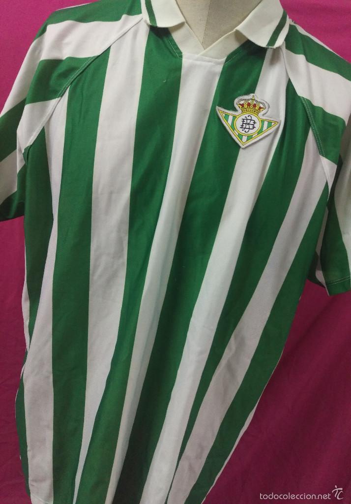 80503d33c61a1 CAMISETA FUTBOL ORIGINAL ROGER´S REAL BETIS 1996 TALLA XXL (Coleccionismo  Deportivo - Ropa