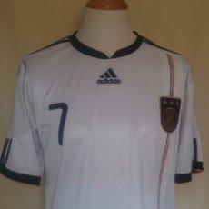 Coleccionismo deportivo: CAMISETA FUTBOL ALEMANIA #7 SCHWEINSTEIGER 2010. Lote 60851831