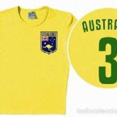 Coleccionismo deportivo: CAMISETA VINTAGE * SELECCION OFICIAL DE FUTBOL DE AUSTRALIA * SELLADA EN BLISTER. Lote 61072283