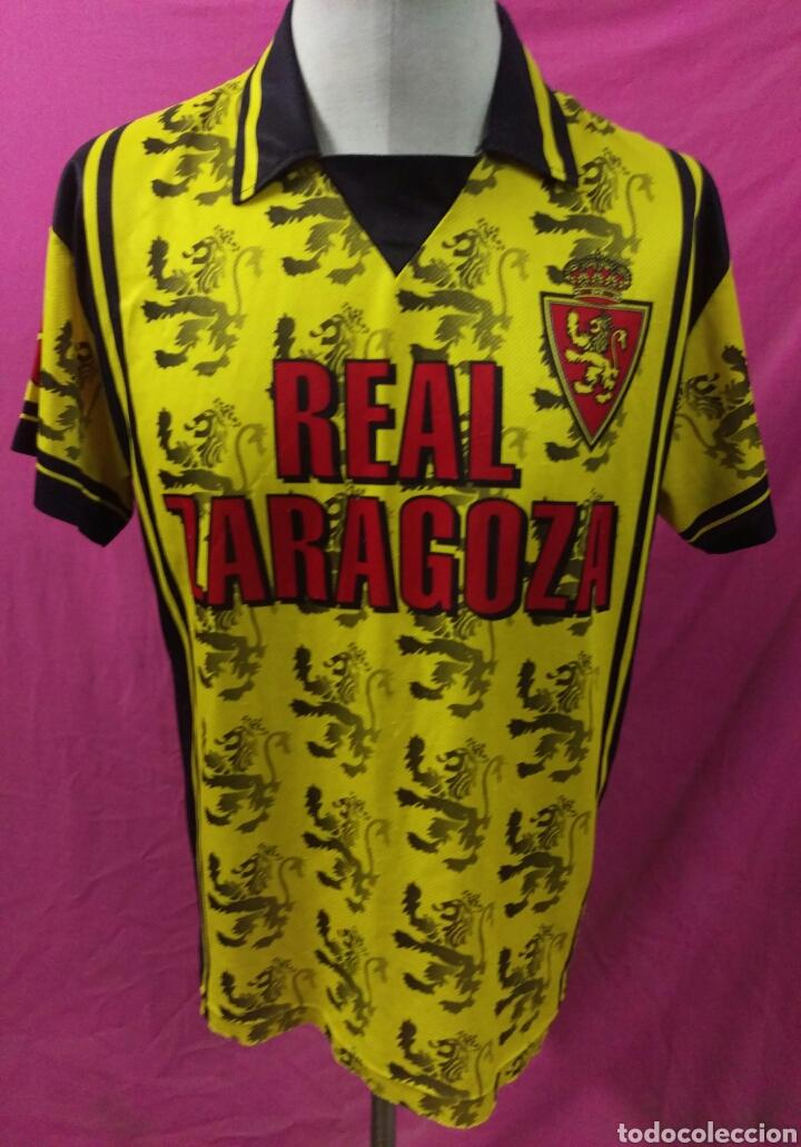 Coleccionismo deportivo: Camiseta fútbol Real Zaragoza talla L - Foto 2 - 63449227