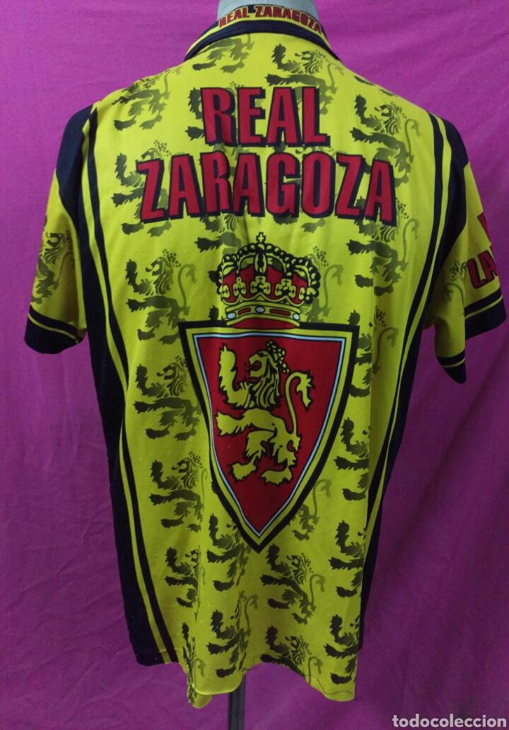 Coleccionismo deportivo: Camiseta fútbol Real Zaragoza talla L - Foto 3 - 63449227