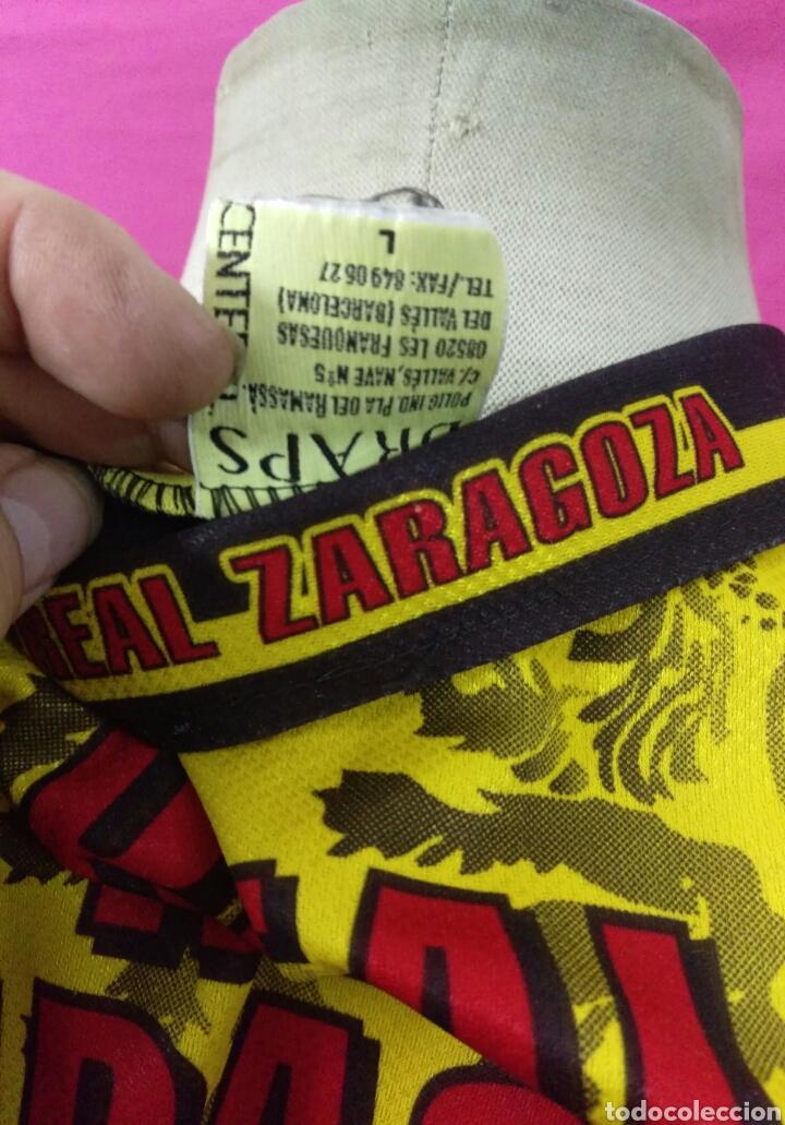 Coleccionismo deportivo: Camiseta fútbol Real Zaragoza talla L - Foto 4 - 63449227