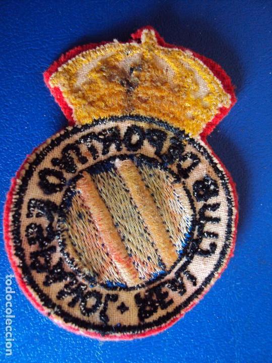 Coleccionismo deportivo: (F-161037)LOTE DE CAMISETA,CALCETINES,BOTAS Y ESCUDO DEL R.C.D.ESPAÑOL,AÑOS 60 - Foto 14 - 63738583
