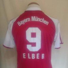 Coleccionismo deportivo: CAMISETA BAYERN MUNICH #9 ELBER 2003-2004 . Lote 64751071