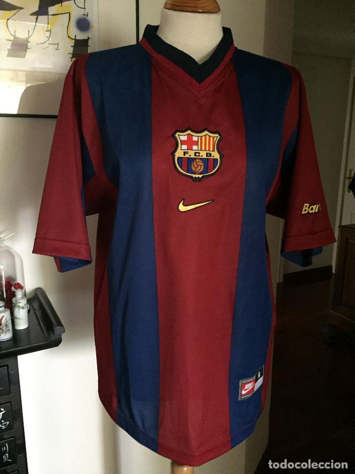 CAMISETA F.C BARCA BARCELONA AÑOS 90 (Coleccionismo Deportivo - Ropa y  Complementos - Camisetas de 6f704505510