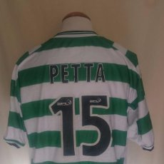 Coleccionismo deportivo: CAMISETA CELTIC GLASGOW Nº15 PETTA (MATCH WORN) 2002-2003. Lote 67589013