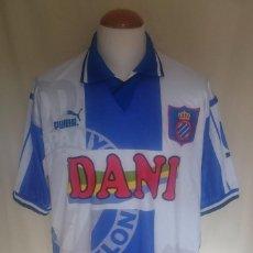 Coleccionismo deportivo: CAMISETA FUTBOL R.C.D ESPAÑOL 1996-1997 DANI. Lote 67592557