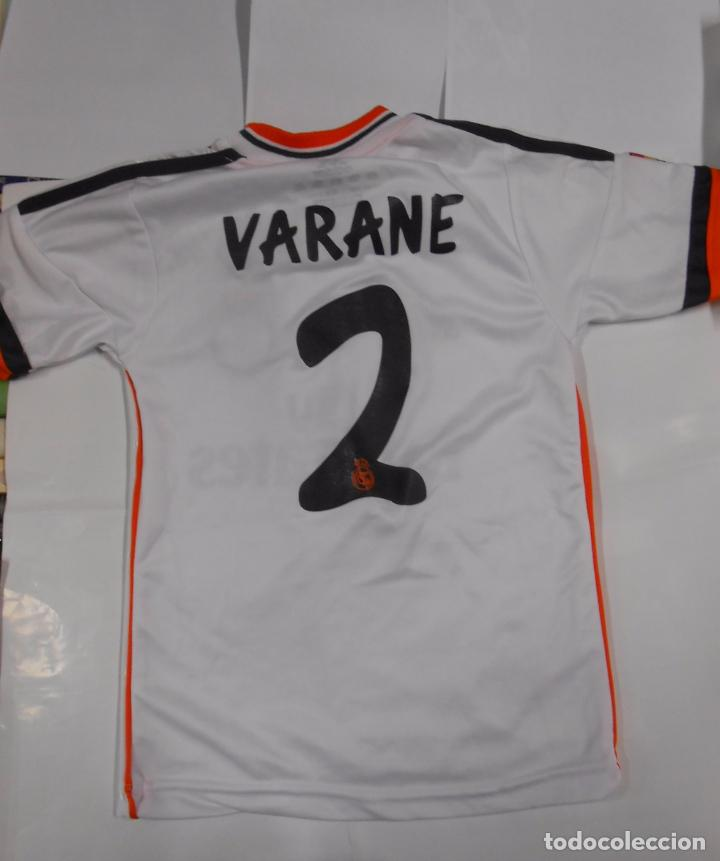 Camiseta Real Madrid Varane