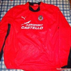 CAMISETA TIPO CHUBASQUERO. MANGA LARGA. VILLAREAL CLUB DE FÚTBOL. PUMA.  2005 2006. TALLA XXL. 380 GR 5d8ef37073bbc