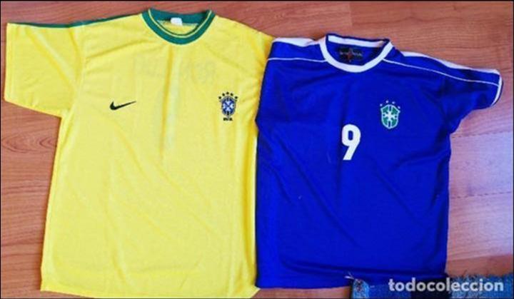 best service 5b137 7171d Dos camisetas ronaldo nazario de lima nike xl, - Sold ...