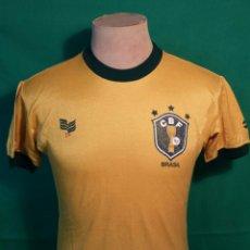 Coleccionismo deportivo: ANTIGUA CAMISETA BRASIL 1982 TOPPER. Lote 55793826
