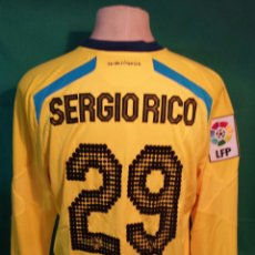 Coleccionismo deportivo: CAMISETA WARRIOR MATCH WORN SERGIO RICO. Lote 186067551
