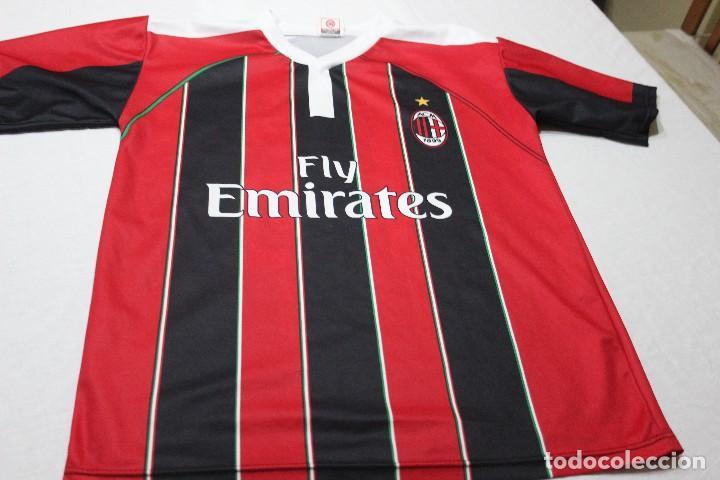camisetas de futbol AC Milan deportivas