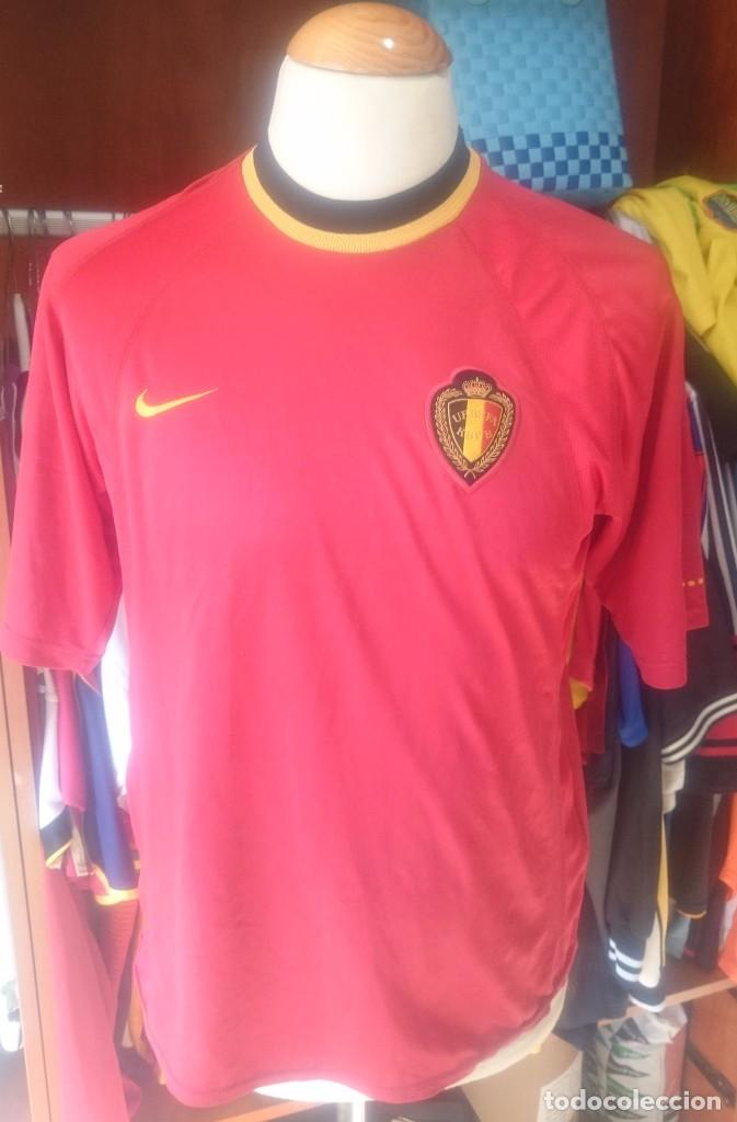 precio asombroso más nuevo mejor calificado más tarde Camiseta shirt seleccion belgica 2000 nike - Sold through Direct ...