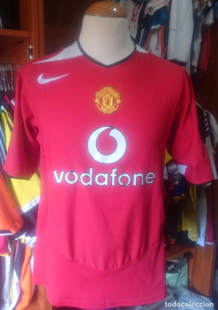wholesale dealer f21f5 4caf8 Camiseta Shirt Manchester United 2004-2005 Nike Vodafone