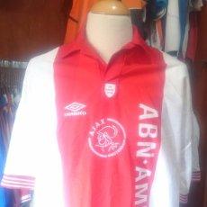 Coleccionismo deportivo: CAMISETA FUTBOL AJAX AMSTERDAM 1993-1994 EDICION ESPECIAL DE MEER 1934. Lote 81169988