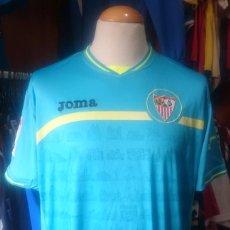Coleccionismo deportivo: CAMISETA FUTBOL SEVILLA 2010-2011 3ª EQUIPACION AZUL. Lote 82000264