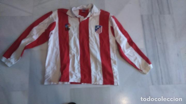 CAMISETA FUTBOL ATLÉTICO DE MADRID TALLA M (Coleccionismo Deportivo - Ropa y Complementos - Camisetas de Fútbol)