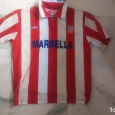 Coleccionismo deportivo: CAMISETA ATLETICO DE MADRID MARBELLA BROKAL. Lote 83913436