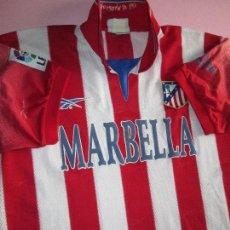 Coleccionismo deportivo: CAMISETA FÚTBOL-ATLÉTICO DE MADRID-REEBOOK-AÑOS 2000-L-ORIGINAL-COMO NUEVA-SIN NÚMERO-VER FOTOS. Lote 85358468