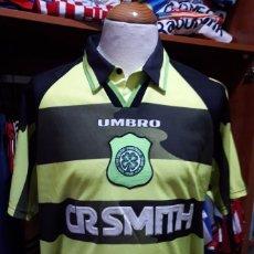 Coleccionismo deportivo: CAMISETA SHIRT CELTIC GLASGOW 1996-1997 UMBRO. Lote 85545540
