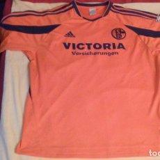 Coleccionismo deportivo: CAMISETA SCHALKE 04 (100 SCHALKER JAHRE -100 ANIVERSARIO) AÑOS 2003-2004 (FIRMADA). Lote 86311632