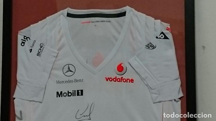 camiseta enmarcada equipo mclaren de formula un - Comprar Camisetas ...