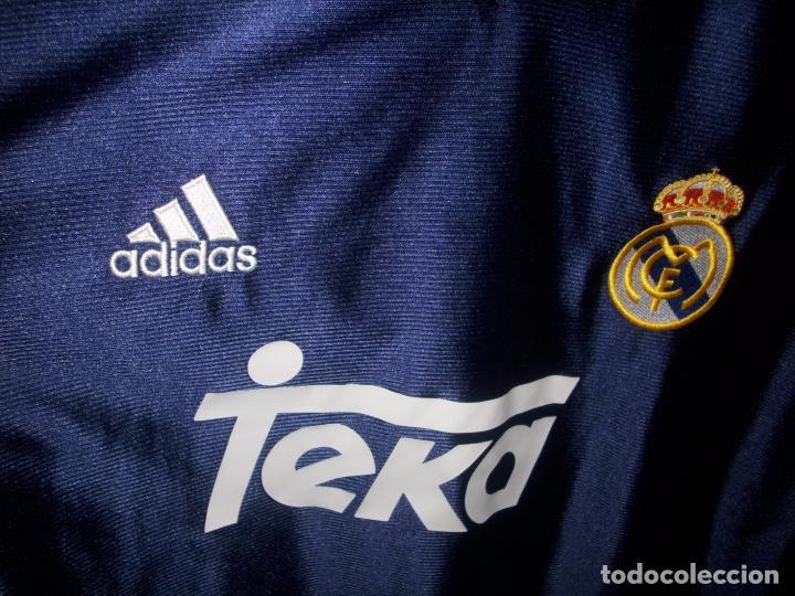Coleccionismo deportivo: CAMISETA DE FUTBOL DEL REAL MADRID - ADIDAS - TEKA - - Foto 3 - 158947616