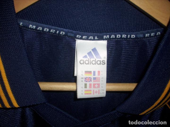 Coleccionismo deportivo: CAMISETA DE FUTBOL DEL REAL MADRID - ADIDAS - TEKA - - Foto 4 - 158947616