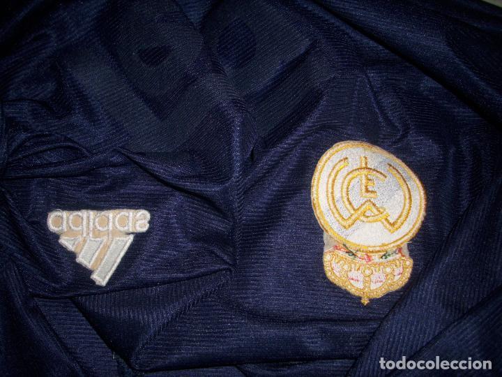 Coleccionismo deportivo: CAMISETA DE FUTBOL DEL REAL MADRID - ADIDAS - TEKA - - Foto 10 - 158947616