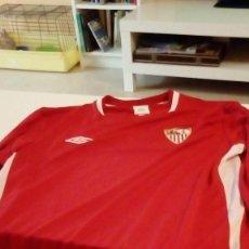 Coleccionismo deportivo: CAMISETA DE FUTBOL SEVILLA MANGA LARGA MARCA UMBRO TALLA L VER FOTO . Lote 88878336