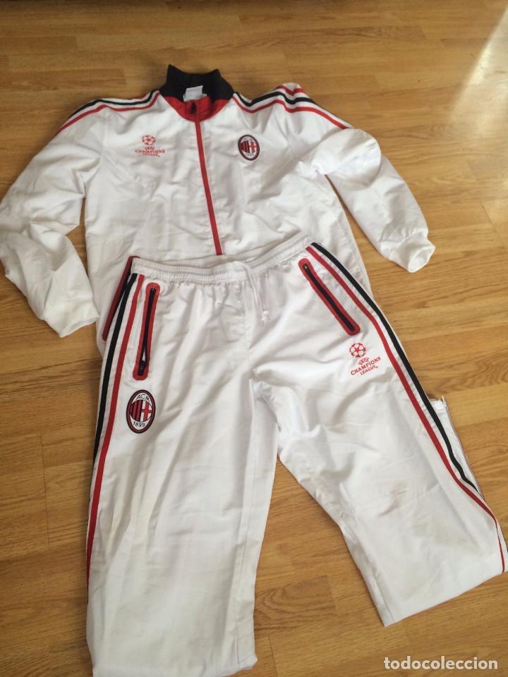chandal AC Milan deportivas