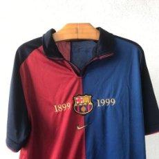 Coleccionismo deportivo: CAMISETA DEL CENTENARIO DEL FÚTBOL CLUB BARCELONA 1899-1999 ORIGINAL. . Lote 89345816