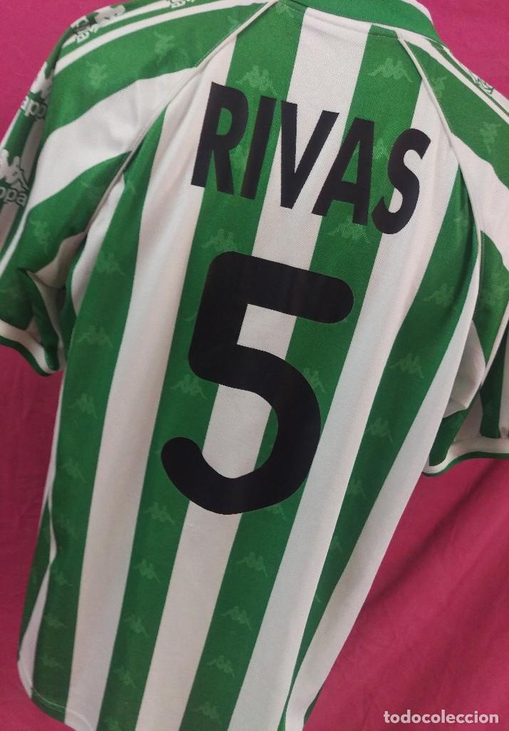1cf7effb8fe1c CAMISETA FUTBOL ORIGINAL KAPPA REAL BETIS DORSAL 5 DAVID RIVAS TALLA L  (Coleccionismo Deportivo -